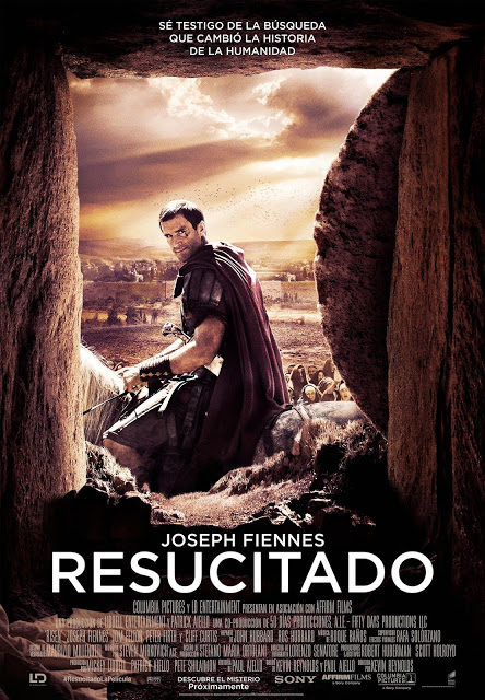 Póster y tráiler español de 'Resucitado' con Joseph Fiennes y Tom Felton