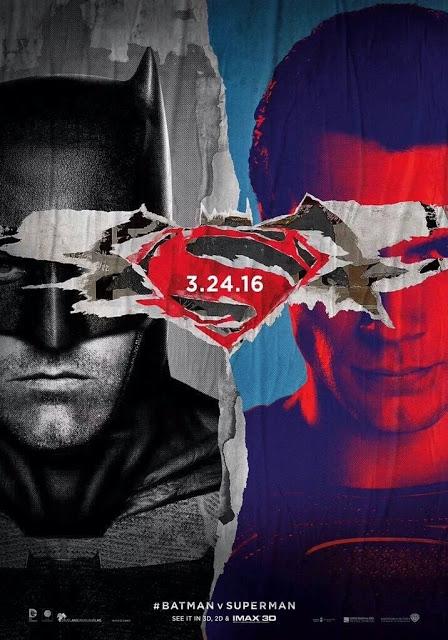 Protagonistas y logos comparten el nuevo póster de Batman v Superman: El amanecer de la Justicia