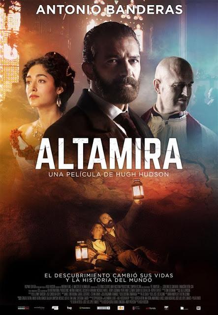 Póster y tráiler de 'Altamira', la nueva película de Antonio Banderas