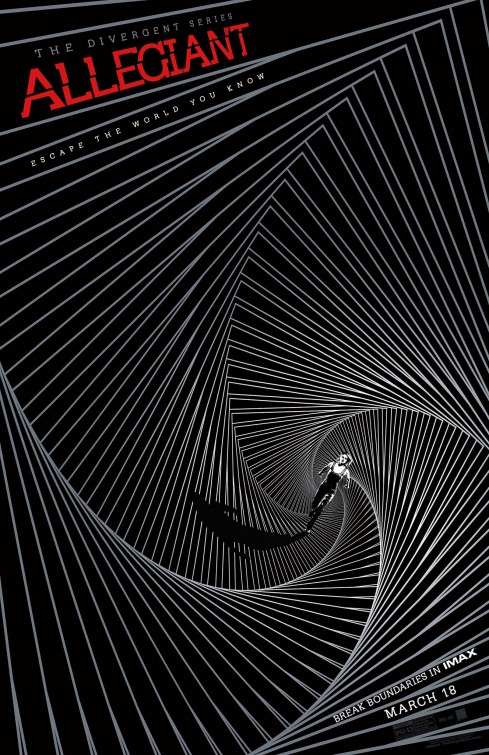 "Nuevo póster ""mareante"" de 'La serie Divergente: Leal'"