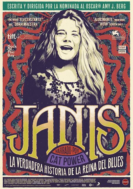 Tráiler y póster exclusivo para España de 'Janis'