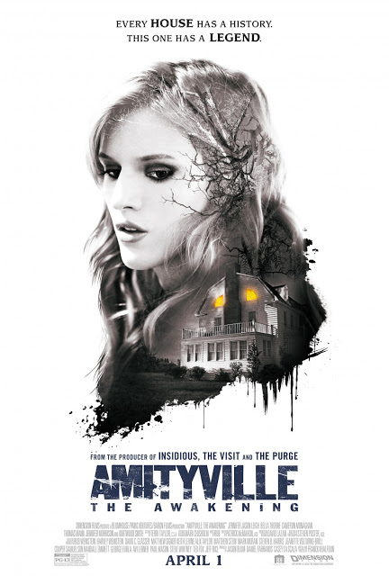 Nuevo póster clásico de 'Amityville: The awakening'