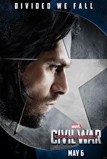 Conoce a los integrantes del equipo del Capitán América en sus pósters individuales