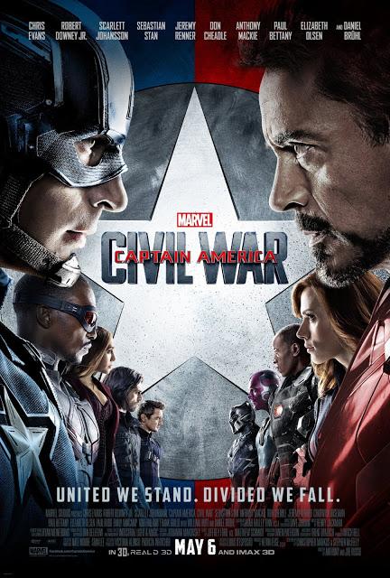 Nuevo póster y segundo tráiler de 'Capitán América: Civil war'