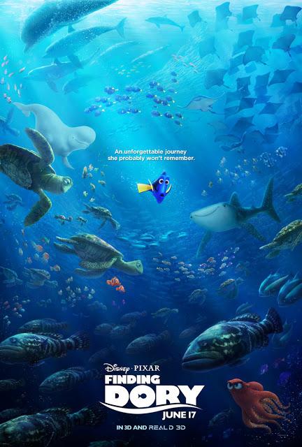 Nuevo póster de 'Buscando a Dory'