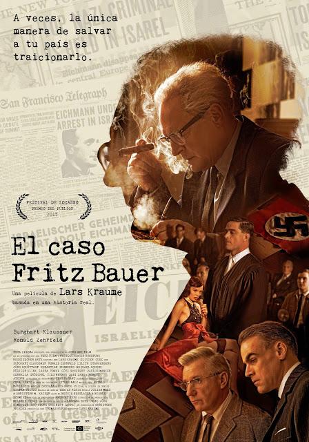 Póster español de 'El caso Fritz Bauer'