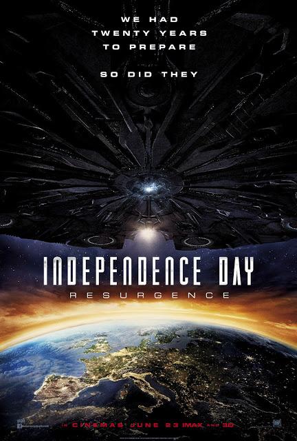 España hace acto de presencia en el póster de 'Independence Day: Contraataque'