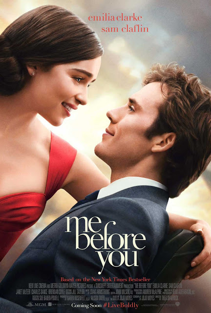 Tráiler español y póster internacional de 'Antes de ti', con Emilia Clarke y Sam Claflin