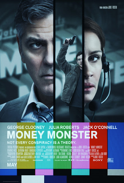 Tráiler final en español y póster internacional de 'Money Monster' con George Clooney y Julia Roberts