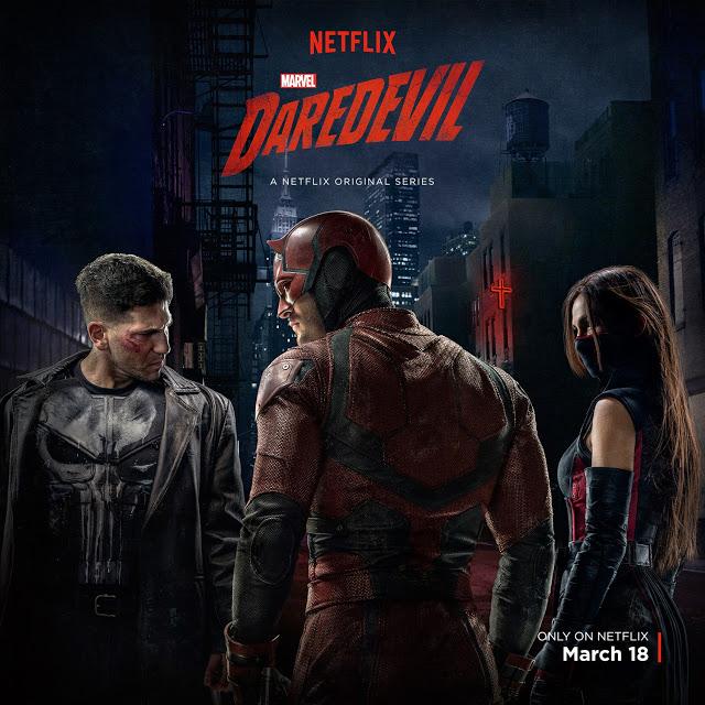 Desvelado el traje de Punisher en el nuevo póster de 'Daredevil'