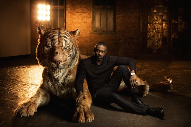 Imágenes de los actores protagonistas y sus personajes de 'El libro de la Selva (The Jungle Book)'