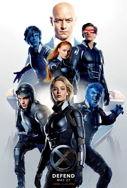 Póster de los héroes de 'X-Men: Apocalipsis'