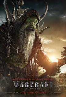 Remesa de pósters de personajes de 'Warcraft: El origen'