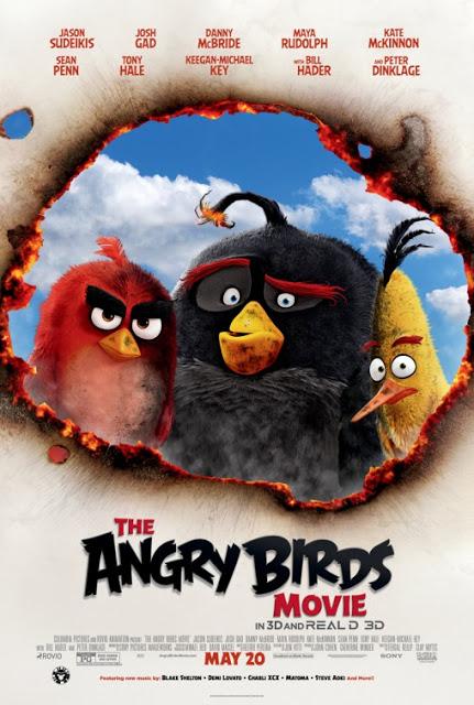 Tráiler final español y nuevo póster internacional de 'Angry Birds, la película'