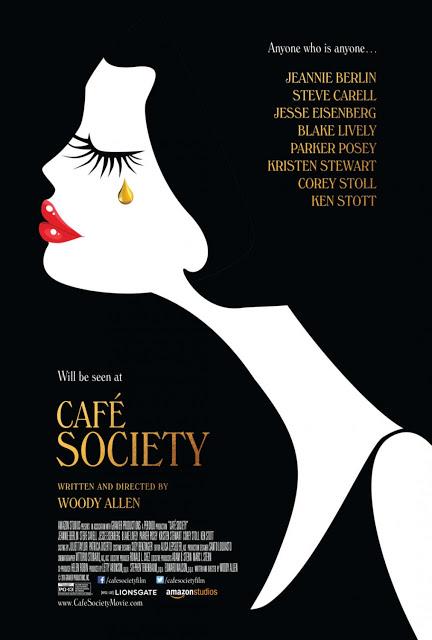 Póster y tráiler de 'Café Society' de Woody Allen con Jesse Eisenberg y Kristen Stewart
