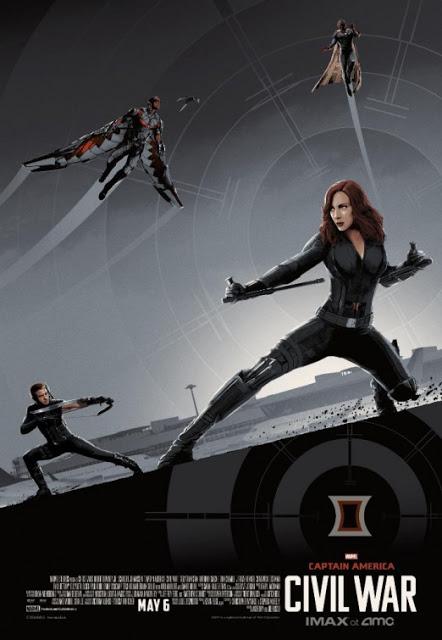 Remesa de pósters IMAX de 'Capitán América: Civil War'