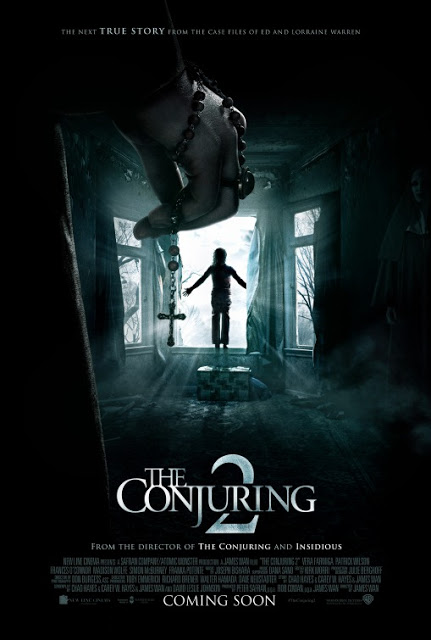 Nuevo y escalofriante póster de 'Expediente Warren 2: The Conjuring'