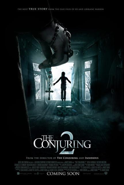 Nuevo y escalofriante póster de 'Expediente Warren 2: The Conjuring'