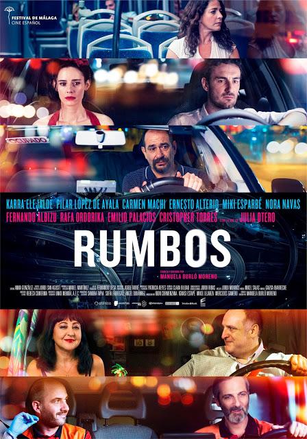 Póster y tráiler de 'Rumbos', con Pilar López de Ayala, Carmen Machi y Ernesto Alterio