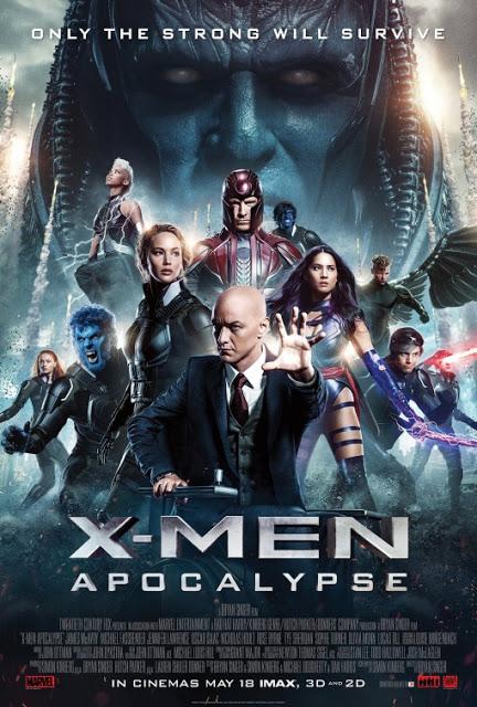 Superhéroes y villanos juntos en el nuevo póster de 'X-Men: Apocalipsis'