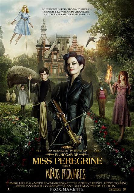 Póster y tráiler de 'El hogar de Miss Peregrine para niños peculiares'