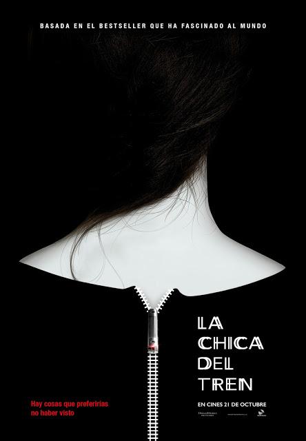 Teaser póster y tráiler español de 'La chica del tren' con Emily Blunt