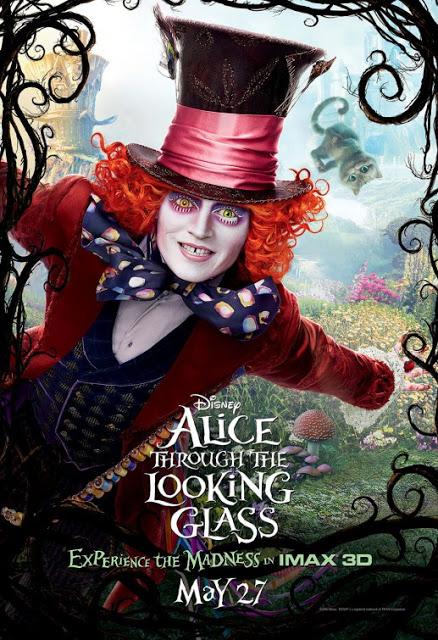 Nuevo póster IMAX de 'Alicia a través del espejo', secuela de 'Alicia en el País de las Maravillas'