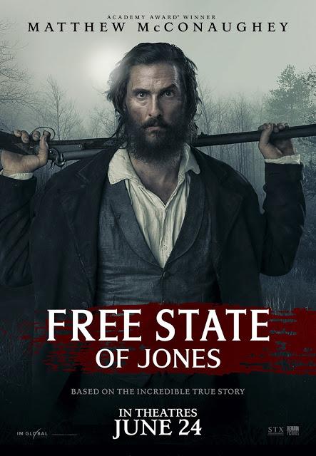 Nuevo póster internacional de 'Los hombres libres de Jones' ('Free State of Jones')