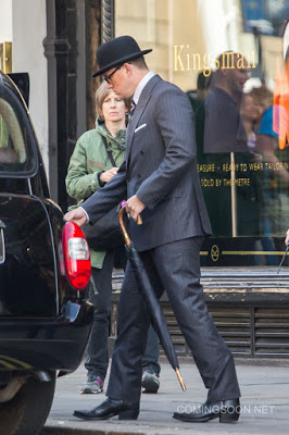 Primeras imágenes de Channing Tatum en el rodaje de 'Kingsman: The Golden Circle'