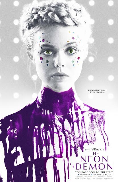 Nuevo póster de 'The Neon Demon' de Nicolas Winding Refn con Elle Fanning
