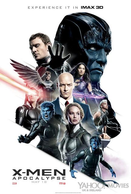 Nuevo póster, anuncio y featurette de 'X-Men: Apocalipsis'