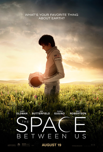 Primer póster y nuevo tráiler de 'The space between us'