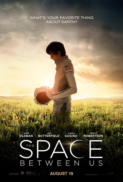 Primer póster y nuevo tráiler de 'The space between us'