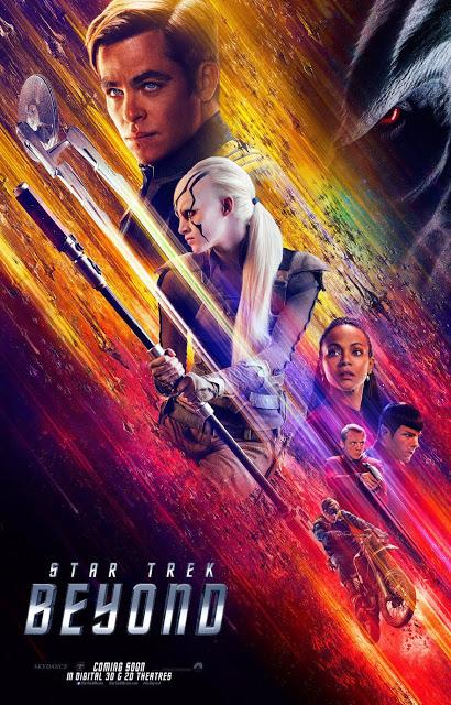 Nuevo póster internacional de 'Star Trek: Más allá'