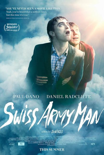 Nuevo póster de 'Swiss Army Man' con Daniel Radcliffe