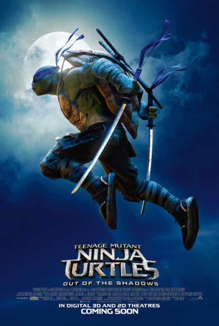 Nuevo póster y tráiler internacional de 'Ninja Turtles: Fuera de las sombras'