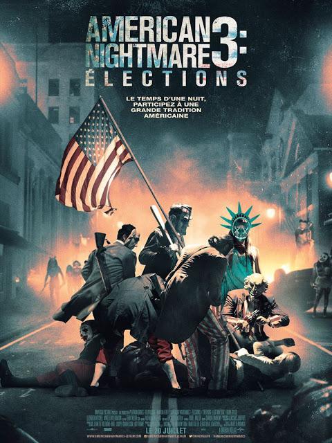 Nuevo y patriótico póster de 'Election: La noche de las bestias'