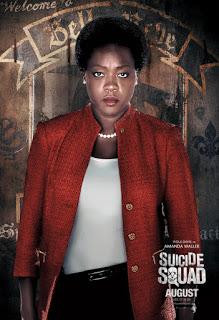 Remesa de pósters de personajes de 'Escuadrón Suicida' ('Suicide Squad')