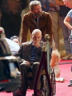 Nuevas imágenes de Hugh Jackman y Patrick Stewart en el rodaje de 'Wolverine 3'