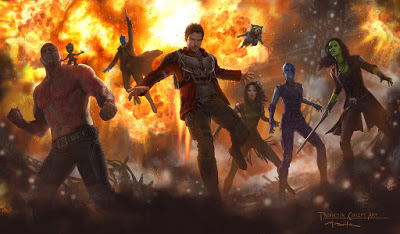 Nueva imagen de arte conceptual de 'Guardians of the galaxy Vol. 2'