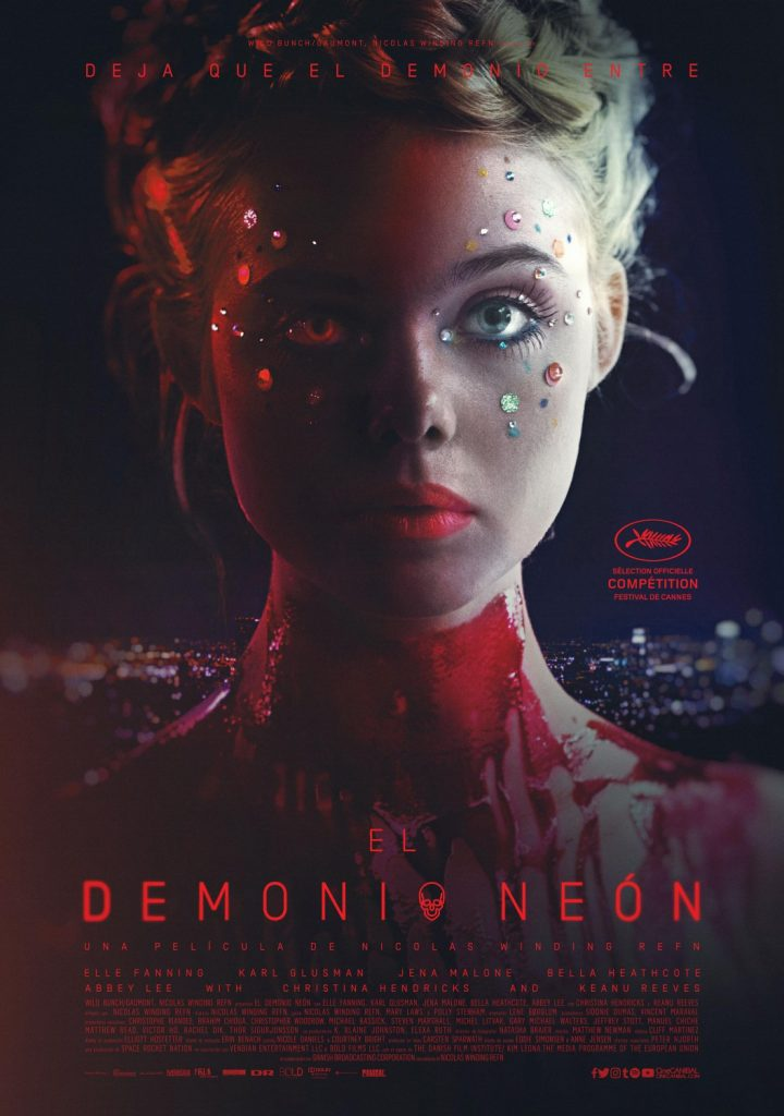 Nuevo póster internacional de 'The Neon Demon' de Nicolas Winding Refn