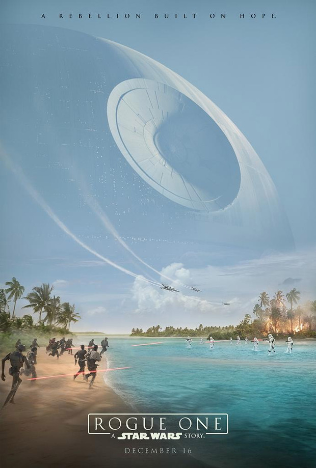Teaser póster y nuevo vídeo de 'Rogue One: una historia de Star Wars'