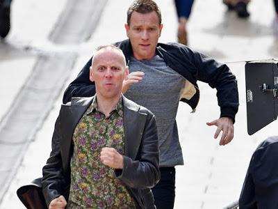 Nuevas imágenes del rodaje de 'Trainspotting 2' en Edimburgo