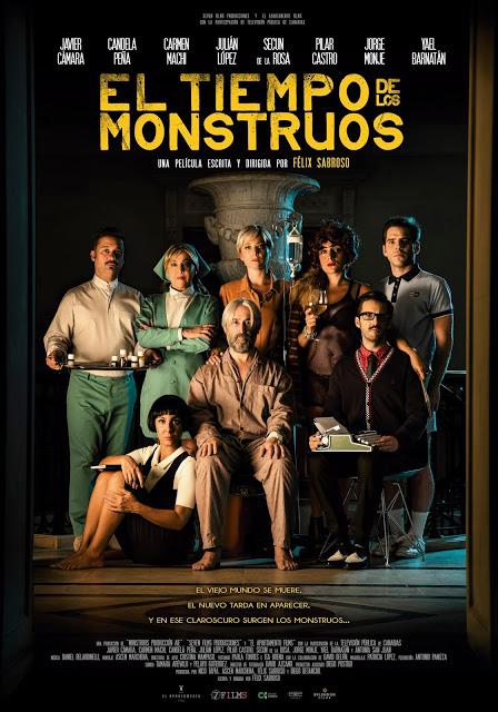 Póster y teaser tráiler de 'El tiempo de los monstruos'