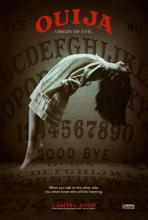 Remesa de pósters internacionales de 'Ouija: El origen del mal'