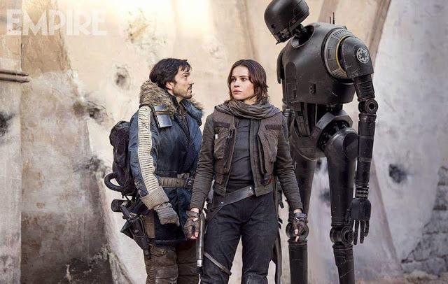 Nueva remesa de fotos de 'Rogue One: una historia de Star Wars'