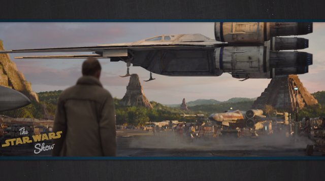 Revelada la nueva nave U-Wing que veremos en 'Rogue One: una historia de Star Wars'