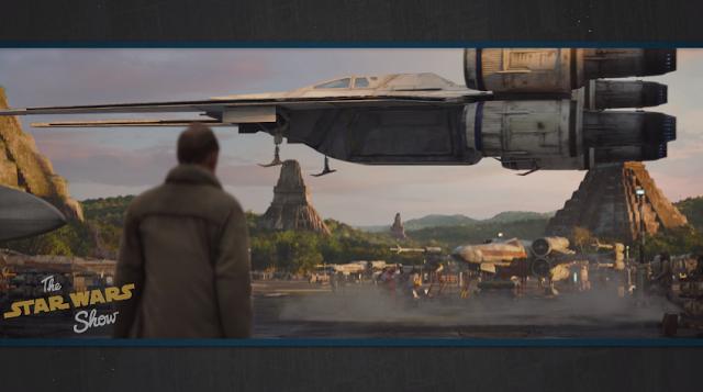 Revelada la nueva nave U-Wing que veremos en 'Rogue One: una historia de Star Wars'