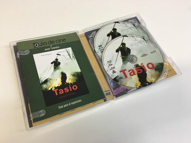A la venta 'Tasio' en combo DVD + Blu-ray de la Filmoteca Fnacional