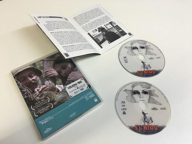 Ya a la venta 'El nido' en combo DVD + Blu-ray de la Filmoteca Fnacional